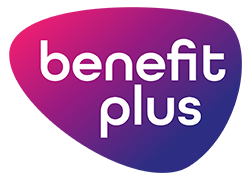 benefit plus logo 2018 male